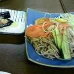 ゆで太郎 - 蕎麦サラダ