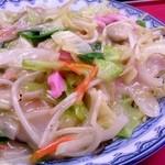 香蘭 - 皿うどん(太麺,大盛り):1,000円
