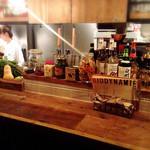 Italian Kitchen VANSAN - 軽く一杯ならカウンターもいいですね