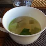 ソフィーズガーデン - ランチのスープ