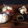かづき - 料理写真:ランチタイムのクリームコロッケ ¥900 デザートも付いて◎◎◎\(^o^)/