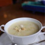 山の食堂Hana - かぼちゃのスープ