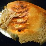 立呑やじゃんだら&LA・JANN - 羽根付き浜松餃子