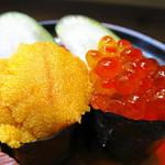 立ち喰い寿司 弁慶 - ウニもイクラも110円