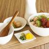 OBU CAFE - 料理写真:出汁飯〈紅鮭とイクラ〉¥1325
