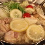 糀Cafe Izakaya Suiren - 塩レモン鍋コースもあります!