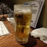 ひょうたん - ドリンク写真:生ビール
