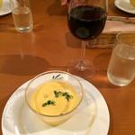 レストランヴェール - 料理写真:カボチャの冷製スープ