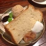 CAFE KICHI - シフォンとスコン