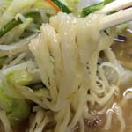 足利麺 - みそ野菜ラーメン
