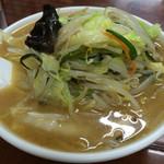 足利麺 - みそ野菜ラーメン 800円