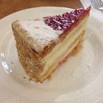 自家焙煎 珈琲屋 ドリーム - 木苺のミルフィーユ