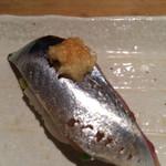 鮨 竹匠 - 秋刀魚