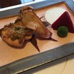 和のふ - さけのきのこ味噌焼き