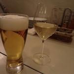 Ristorante Rin - 生ビール&白ワイン