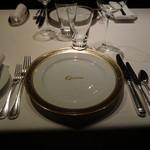 銀座 レカン - テーブルセッティング
