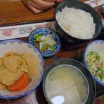飛騨食事処 - 朴葉焼定食