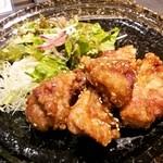 31692223 - 鶏の甘辛揚げ