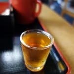 十割そば 谷津 - ブランデー梅酒