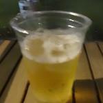 都会の農園バーベキュー広場 - 生ビール