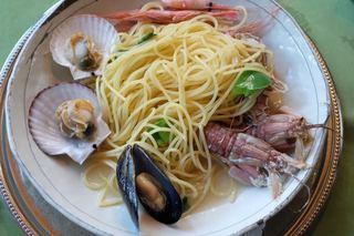 アル・ロドデンドロ - 魚介のスパゲッティ
