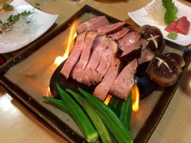 大貫 - 琉球豚、温石焼き