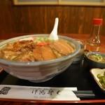 沖縄そば - 料理写真:特製そば(大盛り)