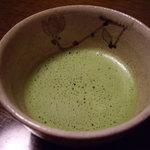 千松しま - optio A30で撮影。抹茶。