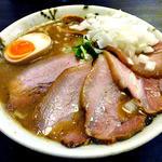 中華そば 石黒 - 肉にぼ(玉ねぎトッピング)