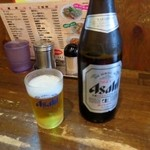 揚子江ラーメン 名門 - 瓶ビール