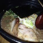 31704519 - 醤油鶏白湯ラーメン大盛り