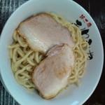 31705183 - 醤油つけ麺250g750円+肉増し120円(26.10.18)