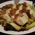 31706041 - ハニーマスタードチキンと柔らか豆腐のサラダ