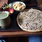 31706663 - 松茸御飯セット 蕎麦大盛