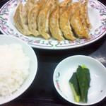 31707456 - 餃子定食 720円