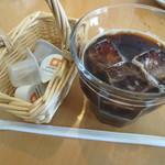 喫茶Live - アフターアイスコーヒー¥150