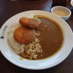 カレーハウス CoCo壱番屋 - 料理写真:クリームコロッケカレー(カニ入り)+粒マスタードタルタルソース