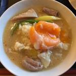 名取屋 - ホルモン鍋を雑炊で〆