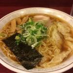 ラーメン夏目 - ワンタン麺
