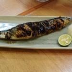 31713388 - 秋刀魚の塩焼き