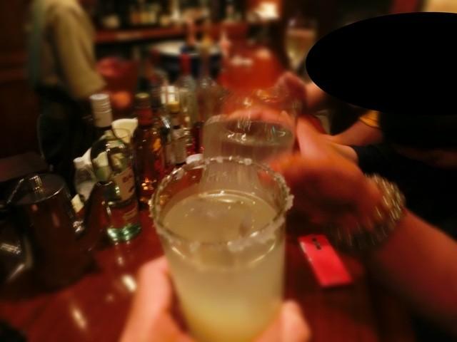 Bar 高橋 - 本日2回目の乾杯であります!
