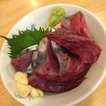 筒 - カツオ刺身