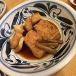 筒 - 煮魚 クエ