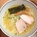 麺処 直久 - 純鶏塩らーめん 570円