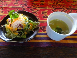 摩波楽茶屋 - アジアンランチ