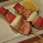 なかなか - 地金目鯛の串焼き