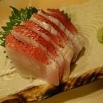なかなか - 地金目鯛の刺身