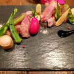 ビストロ フィッシュ - イベリコ豚の肩ロースステーキ