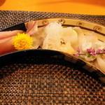 なか井 - 天然トラフグ,久美浜鯖