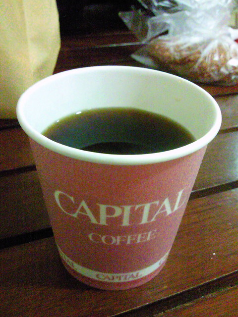 キャピタルコーヒー 東急百貨店 吉祥寺店B1店 - 本職のホット♪ 写真なかったし・・・